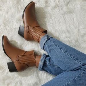 Shoes - LAST//JUST MY TYPIST IN WHISKEY BOOTIES
